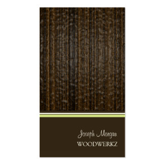 Woodworks, flooring business cards