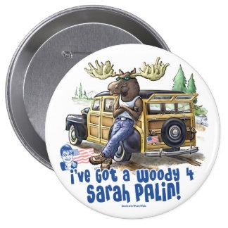 Woody 4 Palin Pin