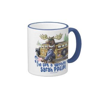 Woody 4 Palin Tazas De Café