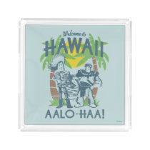 Woody and Buzz - Welcome To Hawaii Acrylic Tray
