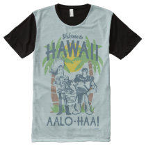 Woody and Buzz - Welcome To Hawaii All-Over-Print T-Shirt