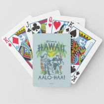 Woody and Buzz - Welcome To Hawaii Bicycle Playing Cards