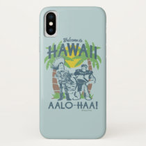 Woody and Buzz - Welcome To Hawaii iPhone X Case