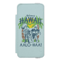 Woody and Buzz - Welcome To Hawaii iPhone SE/5/5s Wallet Case