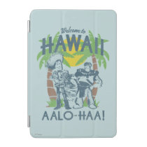 Woody and Buzz - Welcome To Hawaii iPad Mini Cover