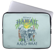 Woody and Buzz - Welcome To Hawaii Laptop Sleeve
