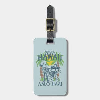 Woody and Buzz - Welcome To Hawaii Luggage Tag