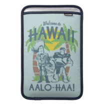 Woody and Buzz - Welcome To Hawaii MacBook Air Sleeve