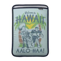Woody and Buzz - Welcome To Hawaii MacBook Sleeve