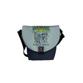 Woody and Buzz - Welcome To Hawaii Messenger Bag
