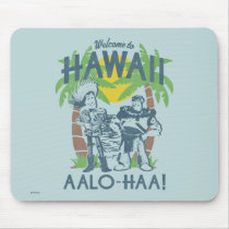 Woody and Buzz - Welcome To Hawaii Mouse Pad