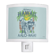 Woody and Buzz - Welcome To Hawaii Night Light
