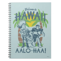 Woody and Buzz - Welcome To Hawaii Notebook