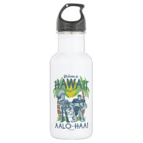 Woody and Buzz - Welcome To Hawaii Stainless Steel Water Bottle