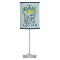 Woody and Buzz - Welcome To Hawaii Table Lamp