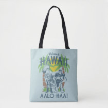 Woody and Buzz - Welcome To Hawaii Tote Bag