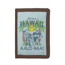 Woody and Buzz - Welcome To Hawaii Trifold Wallet