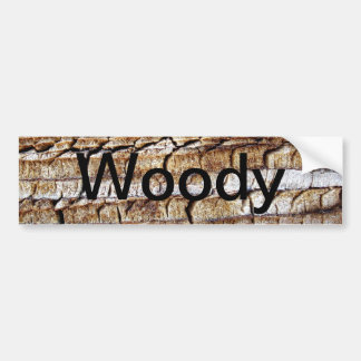 Woody Bumper Sticker