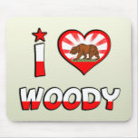Woody, CA Mouse Pad