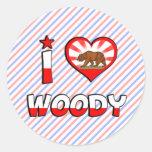Woody, CA Sticker