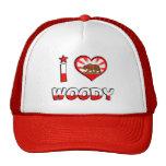 Woody, CA Trucker Hats
