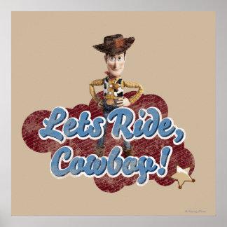 Woody: Deja el paseo, vaquero Poster