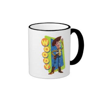 Woody Disney Taza De Dos Colores