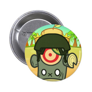 Woody Dummy (Castle Beach I) Pinback Buttons