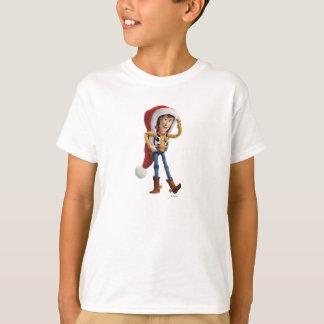 Woody en el gorra de Santa Playera