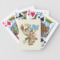 "Woody ""I'm The Law"" Bicycle Playing Cards"
