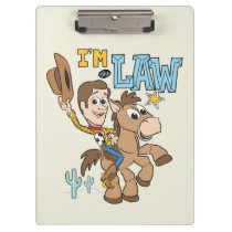 "Woody ""I'm The Law"" Clipboard"