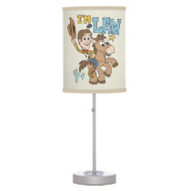 "Woody ""I'm The Law"" Table Lamp"