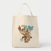 "Woody ""I'm The Law"" Tote Bag"
