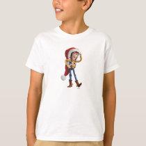 Woody in Santa Hat T-Shirt