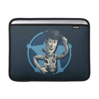 Woody: Insignia del sheriff Fundas MacBook