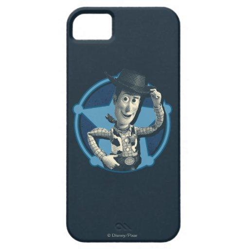 Woody: Insignia del sheriff iPhone 5 Fundas