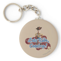 Woody: Lets Ride, Cowboy Keychain