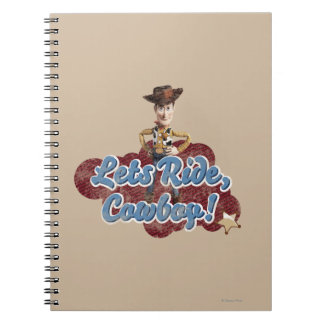 Woody: Lets Ride, Cowboy Notebooks