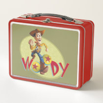 Woody Metal Lunch Box