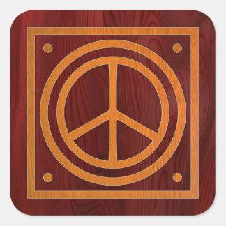 Woody Peace II Sticker