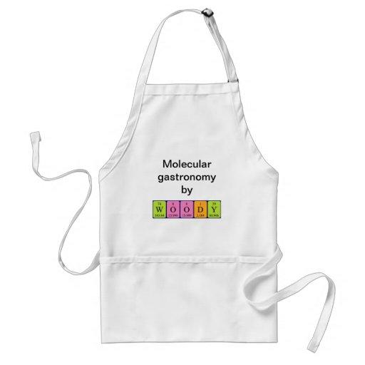 Woody periodic table name apron