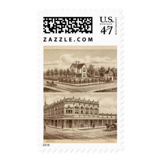 Woody res, banco de Tulare Timbre Postal