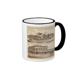 Woody res, Bank of Tulare Coffee Mugs