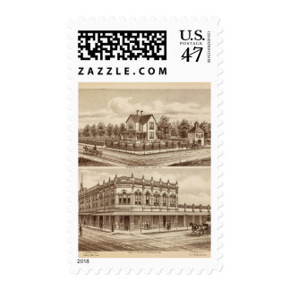 Woody res, Bank of Tulare Postage