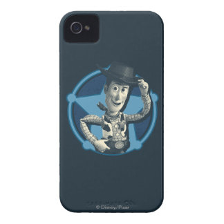 Woody: Sheriff Badge iPhone 4 Cover