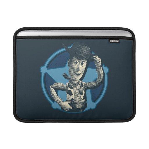 Woody: Sheriff Badge MacBook Sleeves