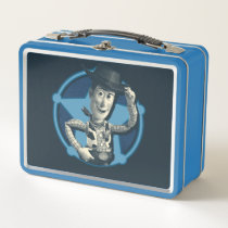 Woody: Sheriff Badge Metal Lunch Box