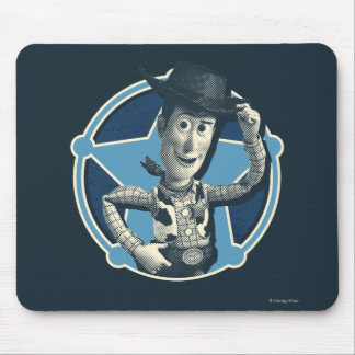 Woody: Sheriff Badge Mouse Pad