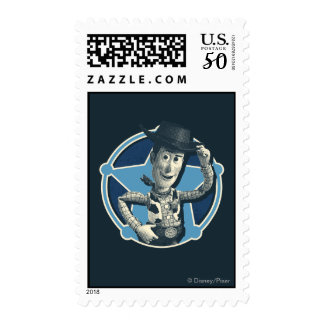 Woody: Sheriff Badge Postage