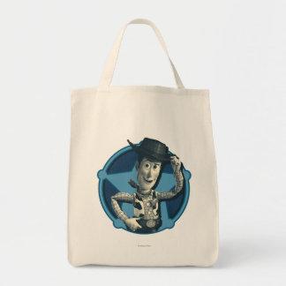 Woody: Sheriff Badge Tote Bag